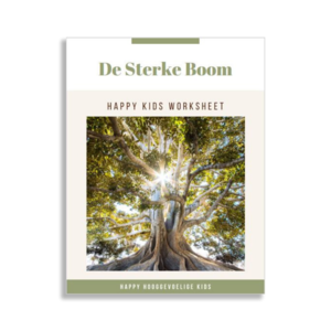 Worksheet De sterke boom